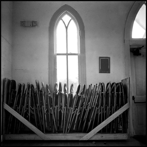 Chairs in Church